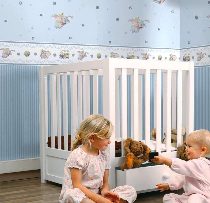C mo renovar habitaciones infantiles con papel pintado - Como decorar con papel pintado ...