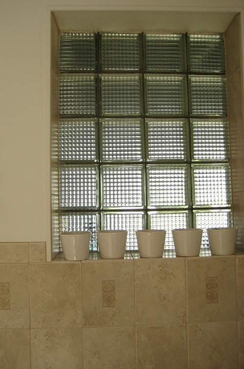 Construir y decorar con cristal pav s - Ladrillos de cristal ...