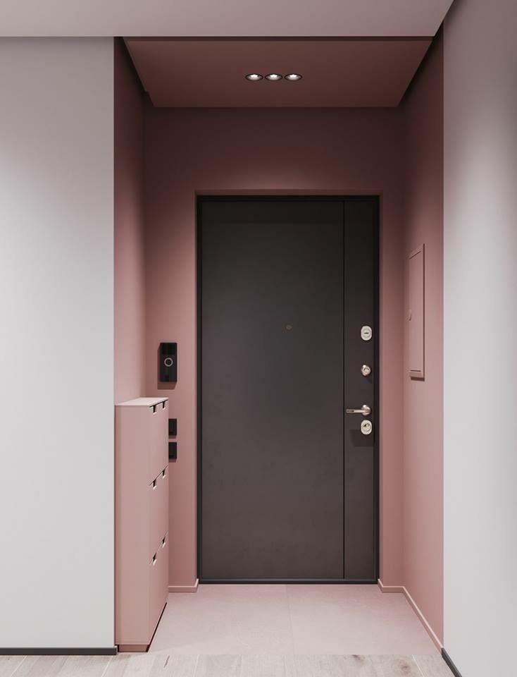 contraste en el pasillo