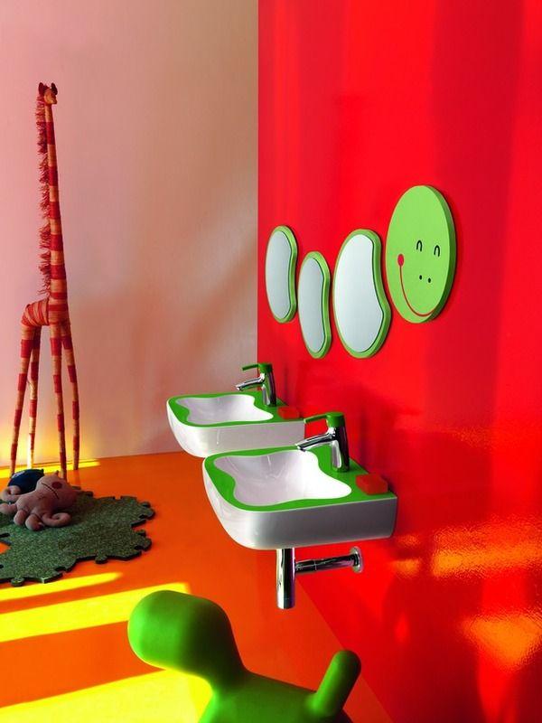 cuarto de baño para niños