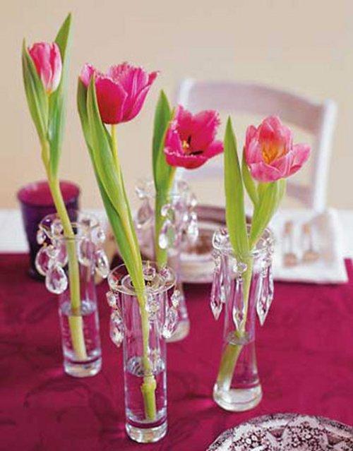 Decoraci n con arreglos florales y centros de mesa parte dos for Arreglos de rosas sencillos