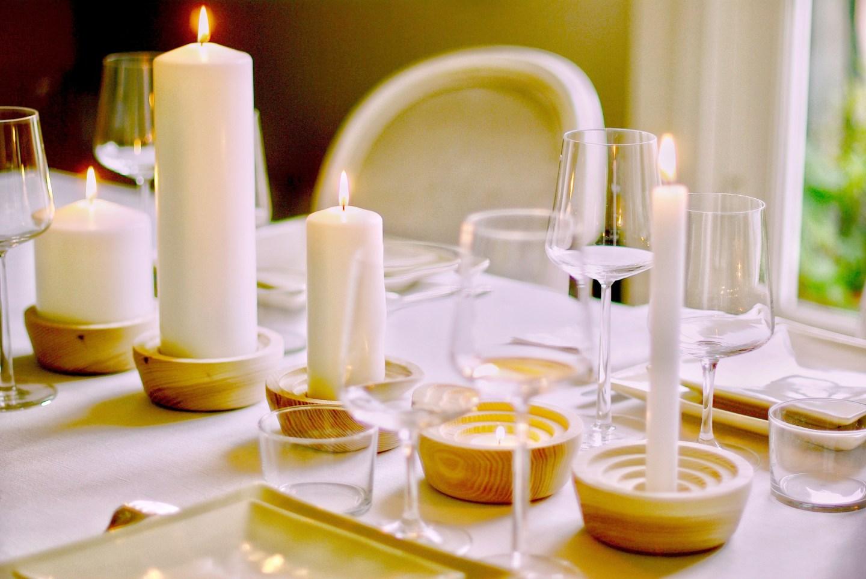cómo decorar mesas
