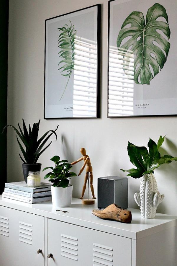 decorar con motivos botánicos
