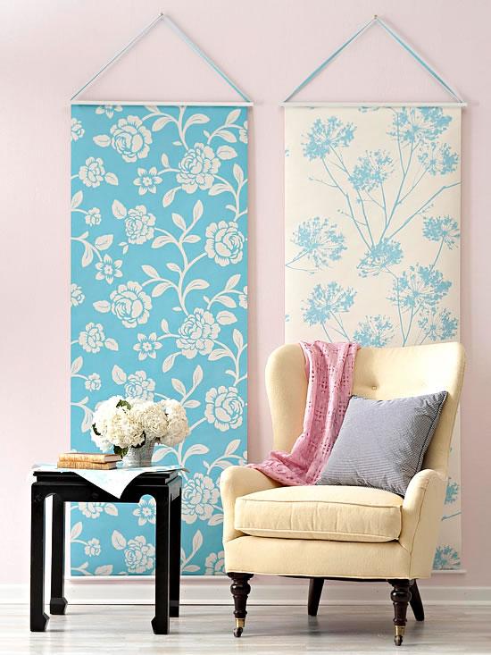 decorar con telas