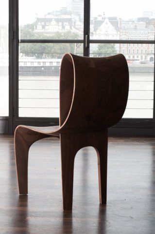 diseño en madera moldeada
