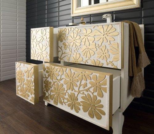 Decoraci n de ba os con muebles elegantes for Banos actuales decoracion
