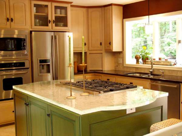 Encimeras de cristal dise o creativo y funcionalidad en - Encimeras de cocina de cristal ...