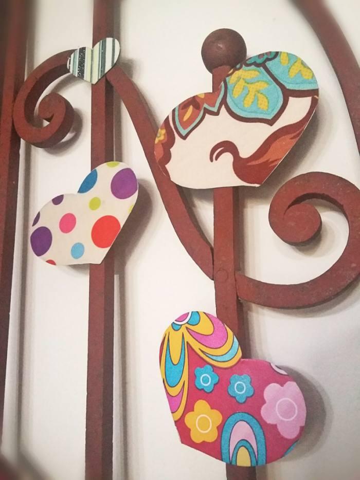 handmade para decorar san valentín
