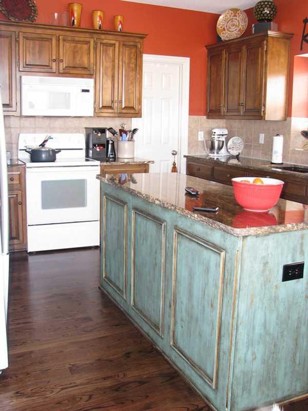 Como renovar una cocina la cocina antes with como renovar - Renovar muebles de cocina ...