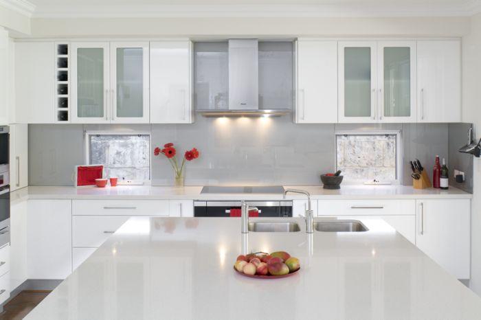 iluminación para gabinetes de cocina