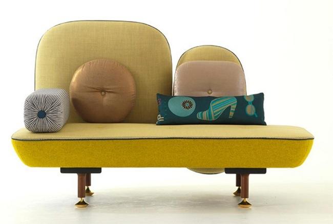 Modernos sillones con cojines