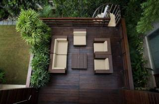 jardín atractivo