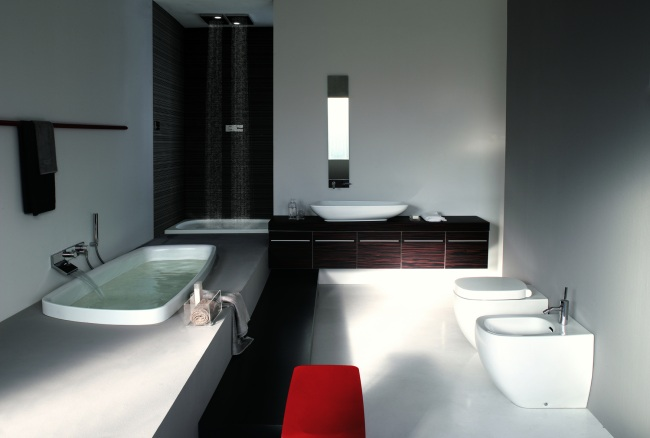 Lavamanos y revestimientos para ba os exclusivos - Revestimientos banos ...