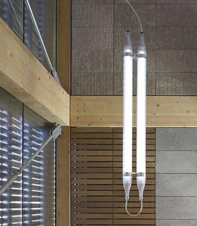 luminaria de diseño moderno