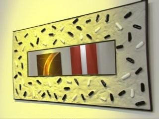 espejos intervenidos