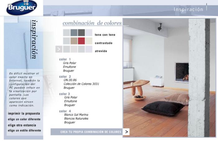 M s simuladores de colores y ambientes - Simulador ambientes bruguer ...