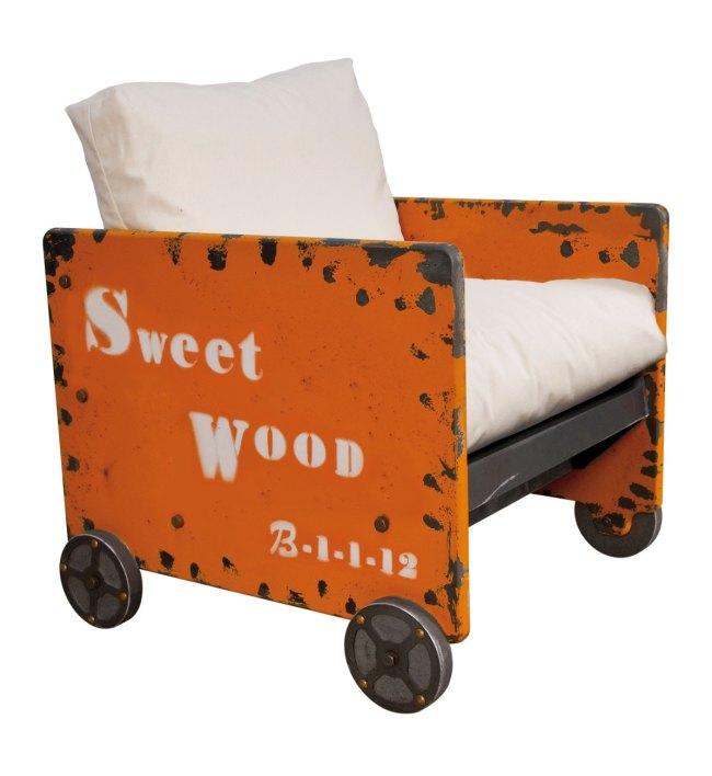 Muebles artesanales de estilo industrial for Muebles de estilo industrial barato
