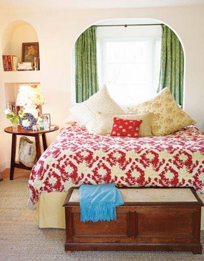 muebles en el dormitorio