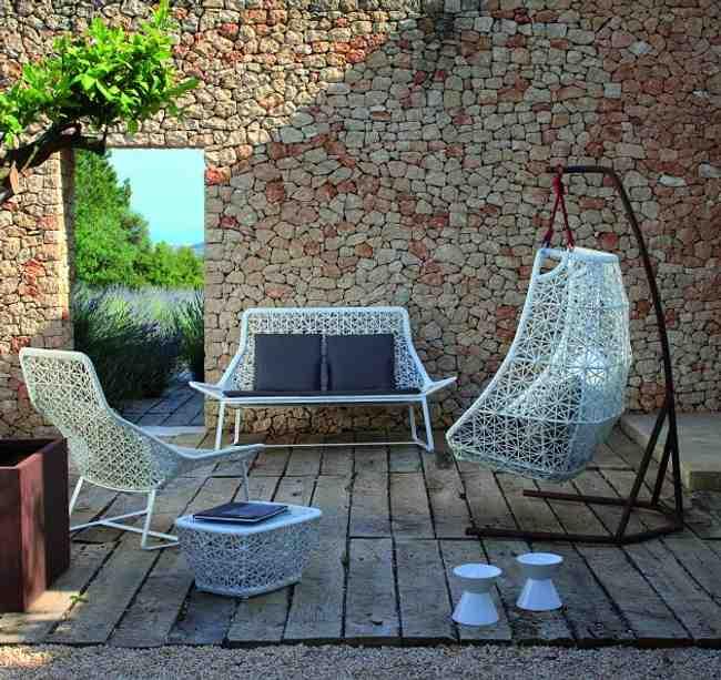 muebles jardin ratan