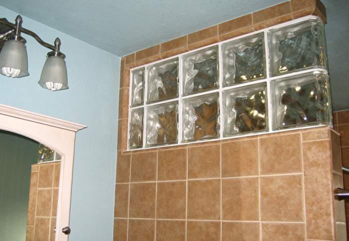 Aplicaciones del bloque de cristal segunda parte - Como colocar ladrillos de vidrio ...
