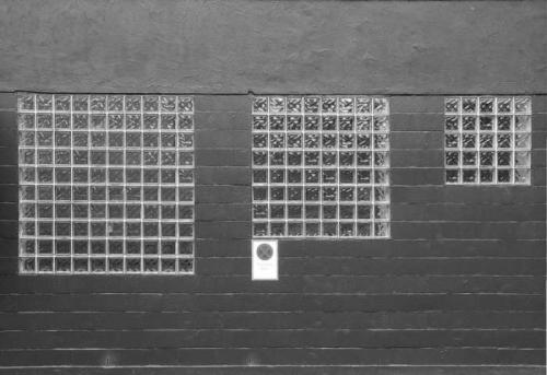 ladrillos de pavés en ventanas