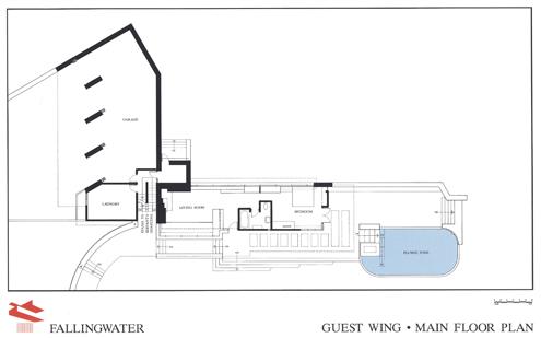 planos casa de la cascada