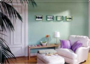 Cambiando los colores de las paredes