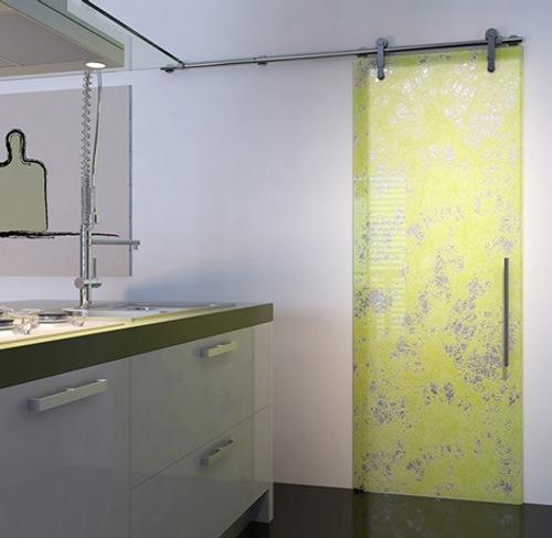 Puertas correderas de cristal estampadas y modernas - Puertas de cristal correderas precios ...
