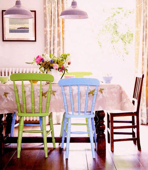 renovar los muebles del comedor