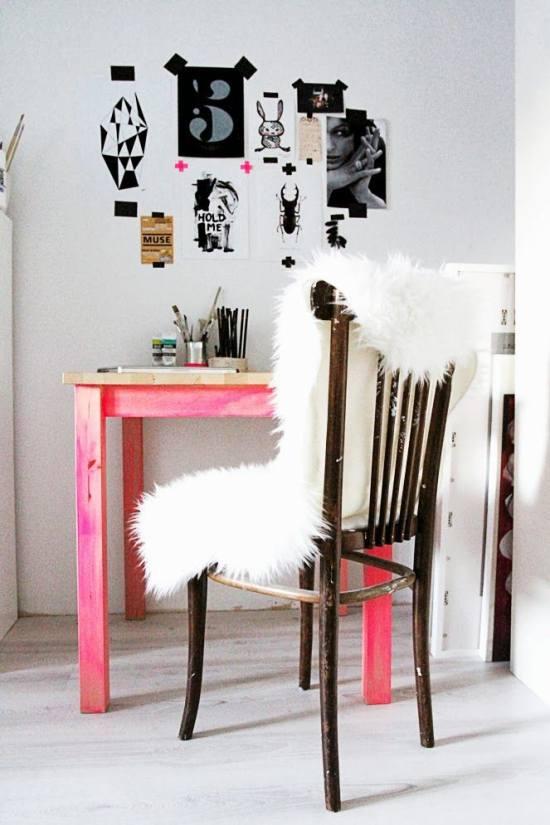 Oficinas y espacios de estudio a todo color for Todo casa muebles