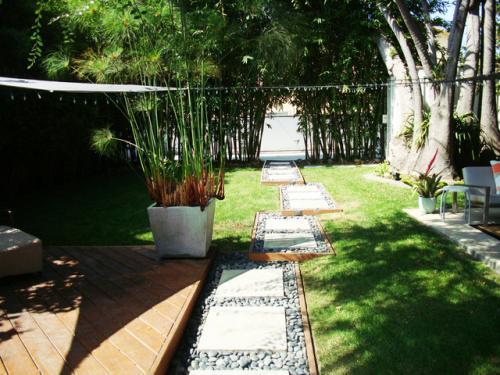 Senderos de losa para el jard n - Losetas para jardin ...