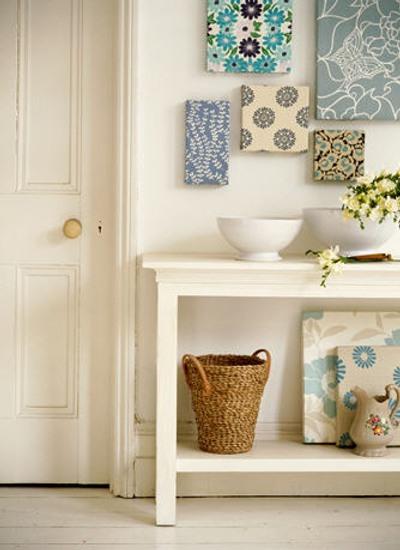 Estampados y motivos florales para decorar