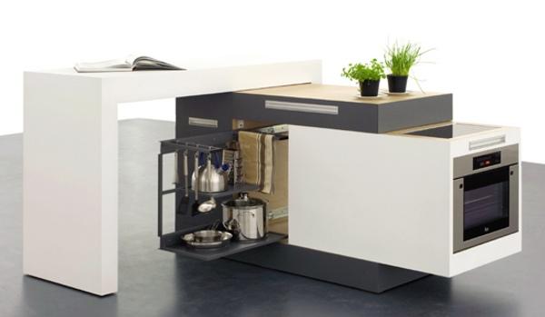 Soluciones para cocinas peque as cocina compacta y modular for Disenadores de cocinas pequenas