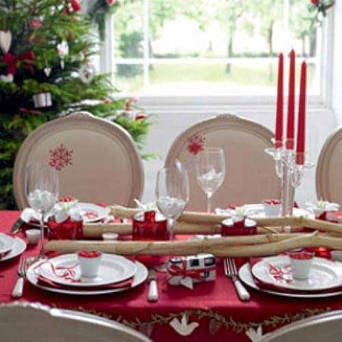 Ideas mesas de navidad y de a o nuevo - Adornar la mesa para navidad ...