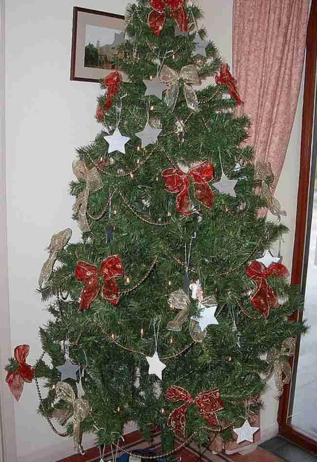 Tips decoraci n de navidad lazos para decorar el rbol de - Hacer adornos para el arbol de navidad ...
