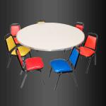 Mesa redonda infantil