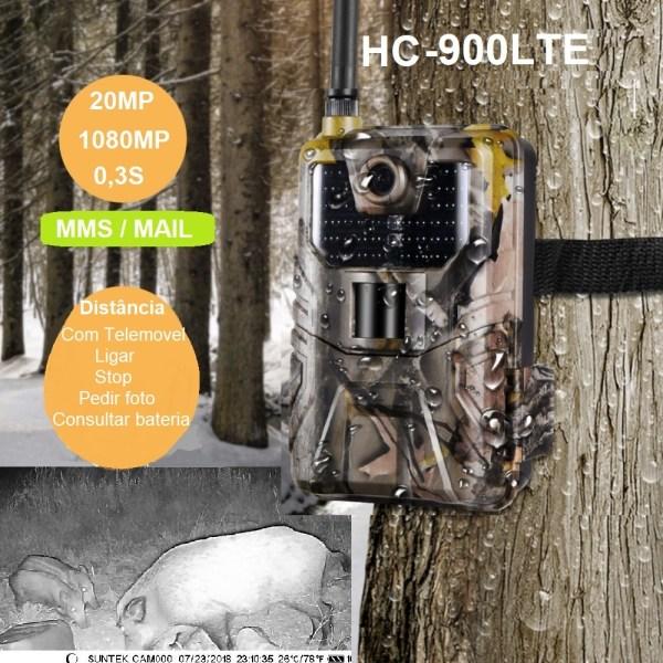Câmara de caça e vigilância HC-900LTE 3