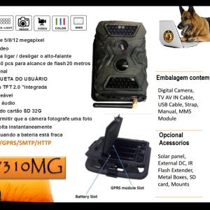 Câmera de caça e vigilância S680M