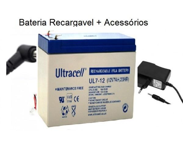 Bateria Recargavel 12V 1
