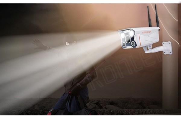 Câmara de Video-Vigilância 1080P Full HD 1