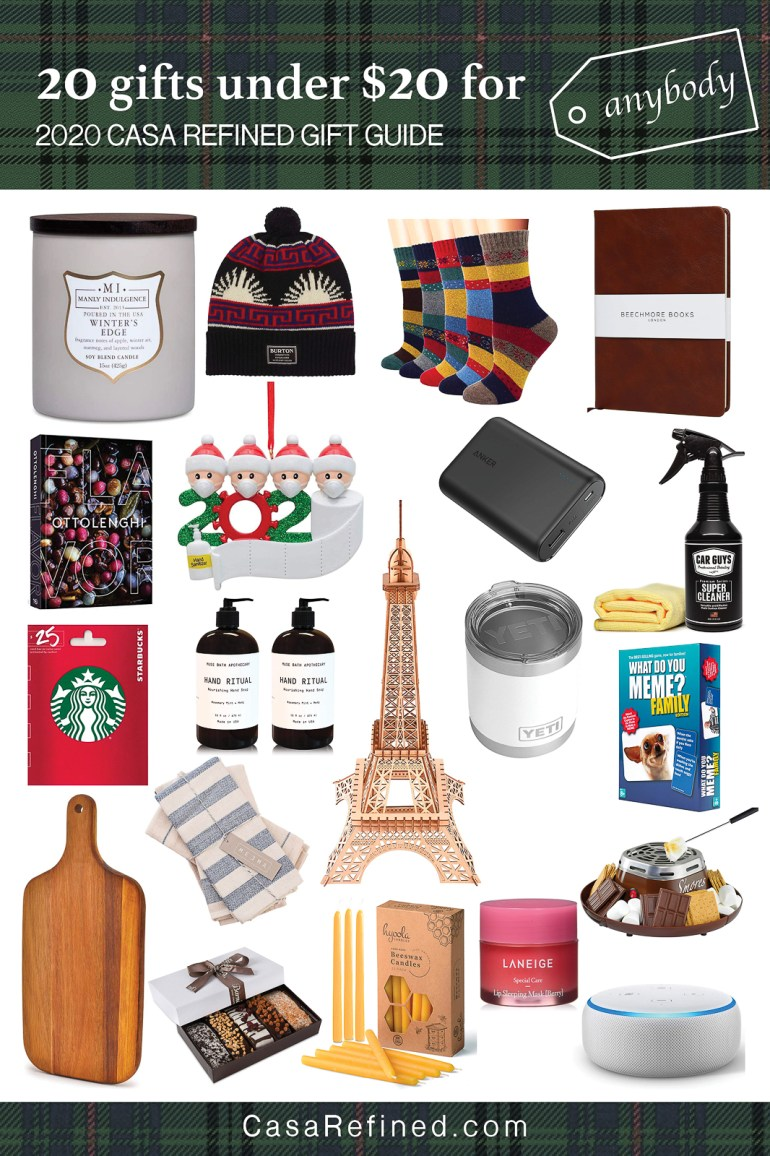 2020 Casa Refined Holiday Gift Guide 20 Best Gifts Under 20 Casa Refined