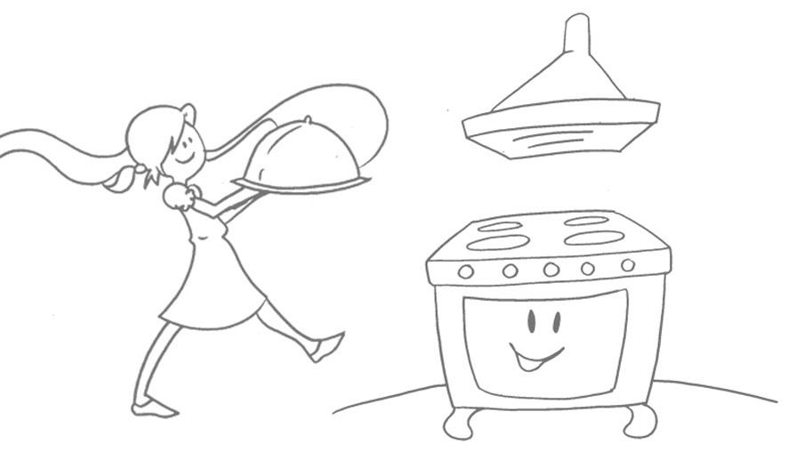Bocetos para recetario  de cocina infantil (2/6)