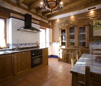 Casa rural. Cocina