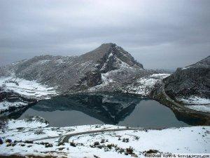 Covadonga lagos invierno