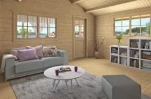 Casa de madera económica