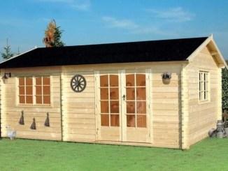 Casa de madera económica modelo ECO05