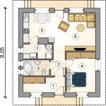 Casa prefabricada convencional C03