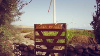 Acceso a Playa Casa Salinero