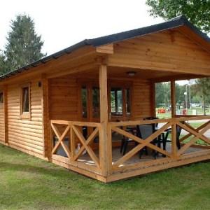 EXT.2MH53M2 2 Casas Móviles de madera