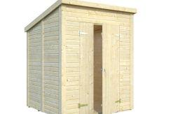 caseta barata Leif 3.1 de Casas Carbonell de paneles de madera